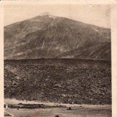 Postales: SANTA CRUZ DE TENERIFE.POSTAL FOTOGRAFICA EL TEIDE.LAS CAÑADAS.. Lote 26259125