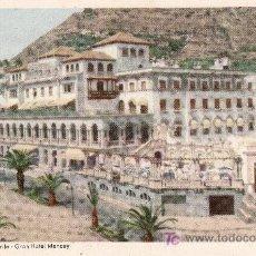 Postales: Nº5 SERIE ED. DECA. SANTA CRUZ DE TENERIFE. GRAN HOTEL MENCEY .SIN CIRCULAR. Lote 5600241