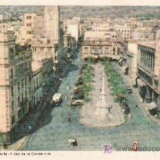 Postales: Nº7 SERIE ED. DECA. SANTA CRUZ DE TENERIFE. PLAZA DE LA CANDELARIA. SIN CIRCULAR. Lote 19199572