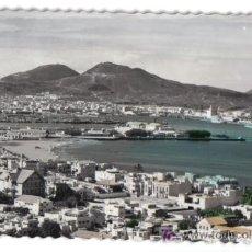 Postales: LAS PALMAS DE GRAN CANARIA, CIUDAD JARDIN Y PUERTO DE LA LUZ. Lote 24682170