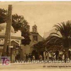 Postales: POSTAL DE CANARIAS LAS PALMAS Nº172, IGLESIA DE SAN TELMO. Lote 5751086