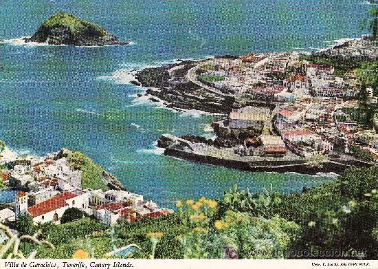 GARACHICO. JOHN HINDE,POSTAL DE TENERIFE.NO CIRCULADA. (Postales - España - Canarias Moderna (desde 1940))