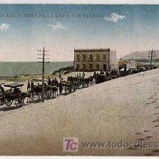 Postais: CARRETERA DEL PUERTO DE LA LUZ A LAS PALMAS. SIN CIRCULAR. Lote 5948417