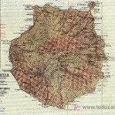 Postales: CANARIAS. MAPA DE GRAN CANARIA. SIN CIRCULAR. MAS COLECCIONISMO EN RASTRILLOPORTOBELLO. Lote 24658139
