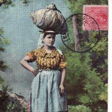 Postales: LAVANDERA, TENERIFE. POSTAL CIRCULADA 1910. VER FOTO ADICIONAL.. Lote 27347932