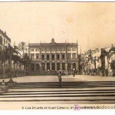 Postales: TARJETA POSTAL DE LAS PALMAS DE GRAN CANARIA.Nº8. PLAZA DE SANTA ANA. EDICIONES ARRIBAS.. Lote 22819203