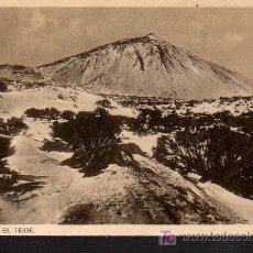 Cartoline: POSTAL DE TENERIFE-EL TEIDE. Lote 9583252