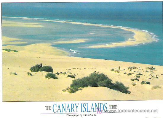 FUERTE VENTURA JANDIA - SCRITA SIN CIRCULAR Y CON SELLO DEL REY DE 45 PTS (Postales - España - Canarias Moderna (desde 1940))