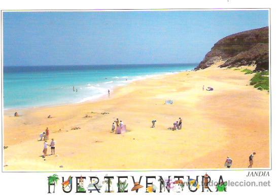 FUERTE VENTURA ***** JANDIA ***** CIRCULADA (Postales - España - Canarias Moderna (desde 1940))