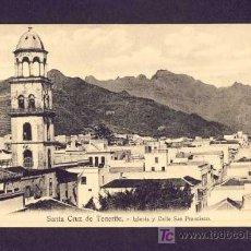 Postales: POSTAL DE SANTA CRUZ DE TENERIFE: IGLESIA Y CALLE DE SAN FRANCISCO (NOBREGA 'S N.26, PVKZ 16038). Lote 7463848