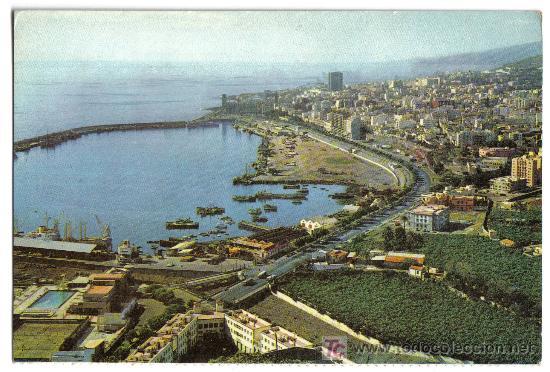 VISTA PANORAMICA DE LA BAHIA Y CIUDAD. SANTA CRUZ DE TENERIFE. EDITORIAL FARDI(BARCELONA) (Postales - España - Canarias Moderna (desde 1940))