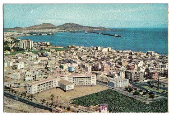 VISTA PARCIAL. LAS PALMAS DE GRAN CANARIA. EDITORIAL FARDI(BARCELONA) (Postales - España - Canarias Moderna (desde 1940))