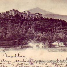 Postales: ALFONSO XIII PELON (PAREJA): TARJETA POSTAL CIRCULADA 1900 CANARIAS-LONDRES PAID LIVERPOOL/BR PACKET. Lote 23209790