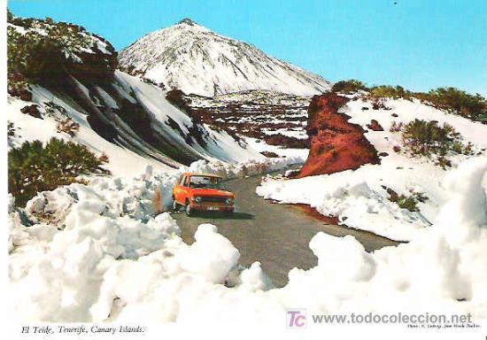 TENERIFE - TEIDE *** SIN CIRCULAR (Postales - España - Canarias Moderna (desde 1940))