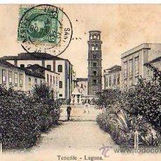 Postales: TENERIFE - LAGUNA. Lote 8586497