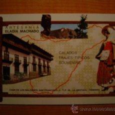 Postales: TARJETA POSTAL ARTESANIA ELADIA MACHADO SIN CIRCULAR. Lote 9134738