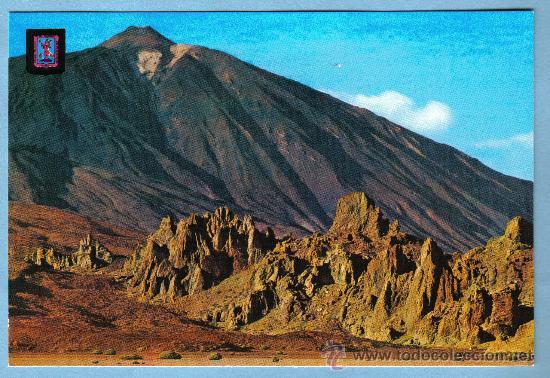 VALLE DE UCANCA Y PICO DEL TEIDE. SANTA CRUZ DE TENERIFE. ESCUDO DE ORO (Postales - España - Canarias Moderna (desde 1940))