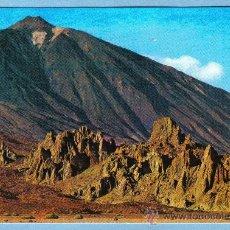 Postales: VALLE DE UCANCA Y PICO DEL TEIDE. SANTA CRUZ DE TENERIFE. ESCUDO DE ORO. Lote 9160384