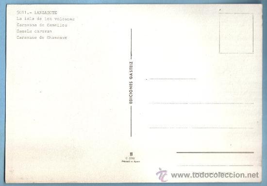 Postales: CARAVANA DE CAMELLOS. LANZAROTE - Foto 2 - 9160541