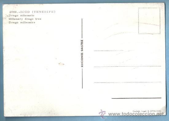Postales: DRAGO MILENARIO. ICOD . TENERIFE - Foto 2 - 9160565