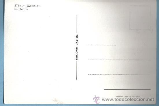 Postales: EL TEIDE . TENERIFE - Foto 2 - 9160603