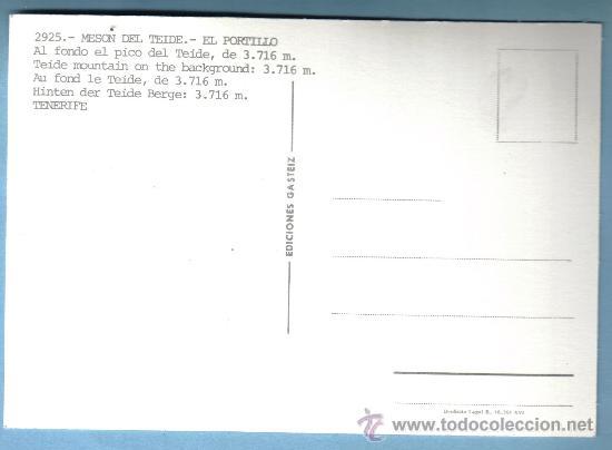 Postales: MESON DEL TEIDE - EL PORTILLO . TENERIFE - Foto 2 - 9160642