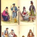 Postales: LA PALMA. 13 POSTALES COLOR, CON DIBUJOS DE TRAJES TIPICOS, SIN CIRCULAR. 1965. Lote 26443954