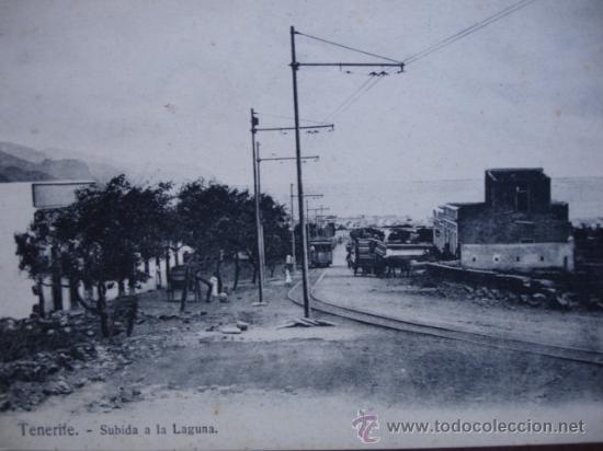 TENERIFE,SUBIDA A LA LAGUNA (Postales - España - Canarias Antigua (hasta 1939))