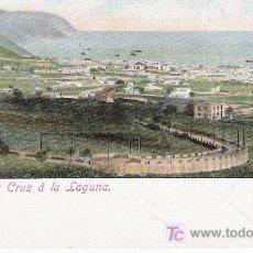 Postales: SUBIDA DE SANTA CRUZ A LA LAGUNA. ANTERIOR A 1906. MUY BONITA. Lote 14533104