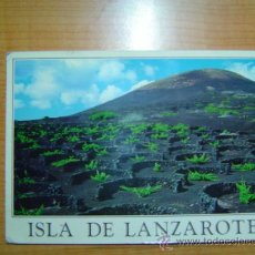Postales: POSTAL LA GERIA LANZAROTE (ISLAS CANARIAS) CIRCULADA. Lote 9593875