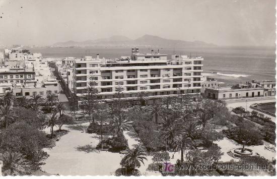 LAS PALMAS DE GRAN CANARIA.HOTEL PARQUE. ED.LUJO-ZARAGOZA Nº 38 (Postales - España - Canarias Moderna (desde 1940))