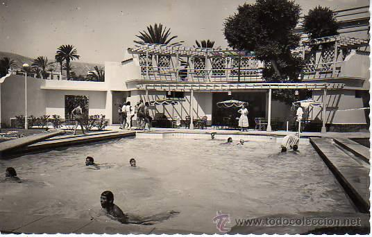 Postal de las palmas de gran canaria 1955 p comprar postales de canarias en todocoleccion - Piscina las palmas de gran canaria ...