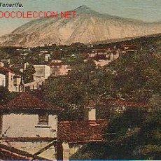 Postais: TARJETA POSTAL ANTIGUA DE TENERIFE. PICO DE TEIDE.. Lote 22796625