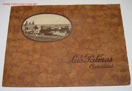 ANTIGUO ALBUM DE FOTOGRAFIAS DE LAS PALMAS - CONTIENE 17 FOTOGRAFIAS - PUBLICIDAD Y FOTOGRAFIAS DE (Postales - España - Canarias Antigua (hasta 1939))