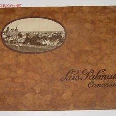 Postales: ANTIGUO ALBUM DE FOTOGRAFIAS DE LAS PALMAS - CONTIENE 17 FOTOGRAFIAS - PUBLICIDAD Y FOTOGRAFIAS DE . Lote 27445224