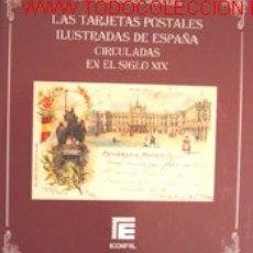 Postales: LAS TARJETAS POSTALES ILUSTRADAS DE ESPAÑA CIRCULADAS EN EL SIGLO XIX. Lote 27421201