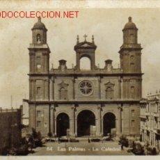 Postales: TARJETA POSTAL DE LAS PALMAS Nº84 - LA CATEDRAL. Lote 25860951