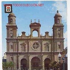 Postales: LAS PALMAS DE GRAN CANARIA. CATEDRAL. Lote 2634610
