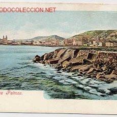 Postales: LAS PALMAS DE GRAN CANARIA. ED. BAZAR ALEMAN. REVERSO SIN DIVIDIR. SIN CIRCULAR. Lote 2653018