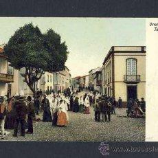 Postales: POSTAL DE OROTAVA (SANTA CRUZ DE TENERIFE): CALLE ANIMADA. Lote 9965380