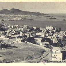 Postales: LAS PALMAS. PUERTO DE LA LUZ. POSTAL BLANCO Y NEGRO, C. 1955. P. Lote 24749788