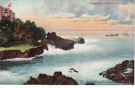 TENERIFE.PUERTO CRUZ-OROTAVA.SIN CIRCULAR. (Postales - España - Canarias Antigua (hasta 1939))