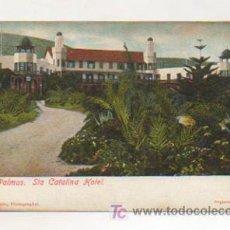 Postales: LAS PALMAS. SANTA CATALINA HOTEL. (J. PERESTRELLO). . Lote 11151938