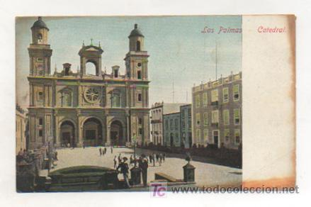 LAS PALMAS. CATEDRAL. (J. PERESTRELLO). (Postales - España - Canarias Antigua (hasta 1939))