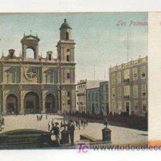 Postales: LAS PALMAS. CATEDRAL. (J. PERESTRELLO). . Lote 11153384