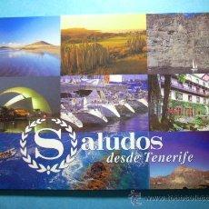 Postales: 557 CANARIAS TENERIFE LOTE DE TRES POSTALES AÑOS 80/90 - TENGO MILES DE POSTALES EN VENTA. Lote 11247240