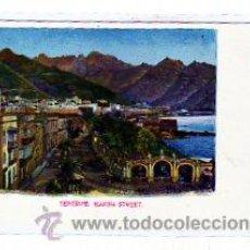 Postales: TENERIFE. MARINA STREET. 1821. SIN CIRCULAR. NOBERGA´S ENGLISH BAZAR Nº 8.. Lote 11247766