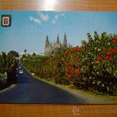 Postales: POSTAL ARUCAS (GRAN CANARIAS) ESTRADA Y CATEDRAL SIN CIRCULAR. Lote 11754831