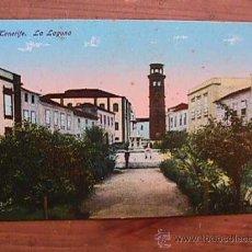 Postales: LA LAGUNA, TENERIFE, AÑOS 20. Lote 11938067