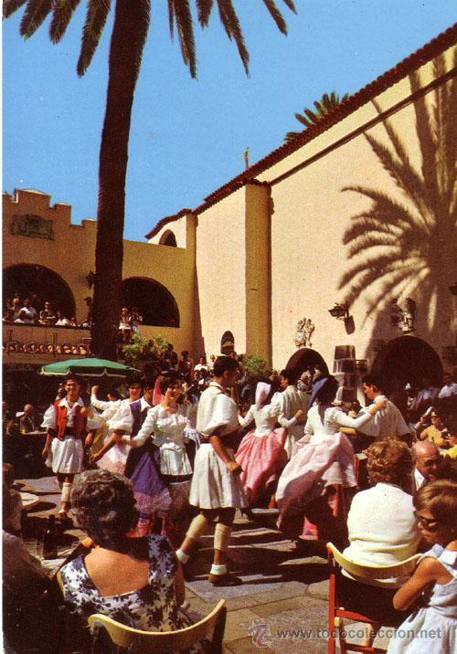 Nº 3785 POSTAL LAS PALMAS DE GRAN CANARIA BAILES TIPICOS (Postales - España - Canarias Moderna (desde 1940))